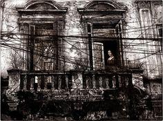 La Belle Ferronnière by Michael Goro - etching/engraving Art Sketches, Art Drawings, Etching Prints, Academic Art, Georges Braque, Poster Prints, Art Prints, A Level Art, International Artist