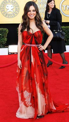 Style File: Mila Kunis' Best Red Carpet Looks Ever - In Alexander McQueen, 2011 from #InStyle