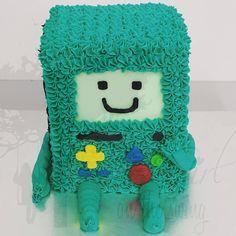 BMO Adventure Time Cake