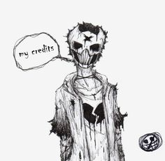 Zacharie creepy by FedericoDonquixote on DeviantArt Character Design References, Character Art, Off Mortis Ghost, Scary Games, Dark Art Illustrations, Off Game, Pet Fox, Fandoms, Rpg Maker