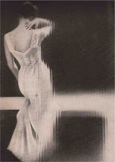 Fashion photography by Lillian Bassman, 1953