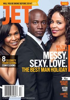 Nia Long, Sanaa Lathan and Taye Diggs Talk Being Black in Hollywood - Entertainment Vibe Magazine, Jet Magazine, Black Magazine, Essence Magazine, Black Actors, Black Celebrities, Black Actresses, Celebs, Ebony Magazine Cover