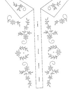 Broderie D'Antan: Embroidery Patterns (5 designs)