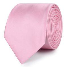Rose Pink Satin Skinny Tie | |  Men's Suit Skinny Ties for Men | Mens Wedding Slim Tie Width Handmade Gentlemen Accessories for Guys | Buy Skinny Ties Online Shop Australia | Thin Neckties Men's Fashions Solid Design | OTAA