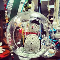 Vintage, upcycled ornaments now at Sparrow's Nest!