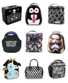 Black and white and cool all over: cool lunchboxes for back to school | Cool Mom Picks
