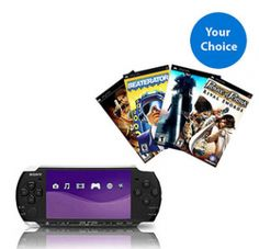 Sony PlayStion Portable Slim PSP Plus 4 Games For $129 Shipped