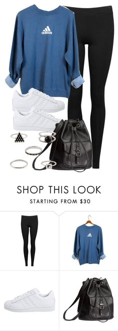 """Style #11608"" by vany-alvarado ❤ liked on Polyvore featuring Vince, adidas, adidas Originals and H&M"