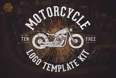 Some of my readers might know I ride my own custom bike and love the design style surrounding the motorcycle culture. I've been busy illustrating and constructing a bunch of vector graphics to create a free motorcycle themed logo template kit. It contains 4 retro/vintage style logo designs with editable text, which can be personalised …