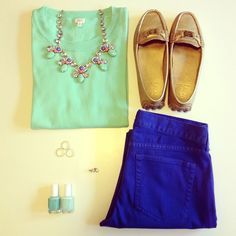 Sweet Southern Prep: Fashion Friday: OOTDs, Whereabouts and J.Crew