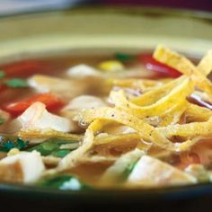 Liven up your soup repertoire with this Mexican-inspired twist on a classic chicken soup.