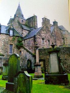 Edinborough ...love cemeteries