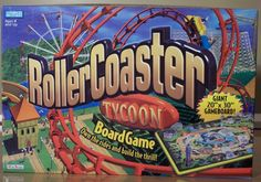 Rollercoaster Tycoon board game - As a big fan of the PC game this was a must play and it doesn't disappoint.  It's been one of our favourite go to games for MANY years.  There's a lovely auction mechanic for buying rides, including blind auctions which are always fun. Lots of social interaction - you can move guests to your rides or an opponents - in the latter you share coins. It's great fun, simple and quick to play. Perfect for kids, families and gamers.