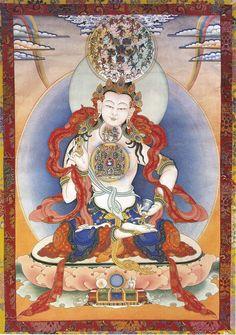 Bodhisattva Vajrasattva Meditation has the ability to purify karma and bring peace.
