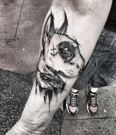 Amazing Dog Tattoo