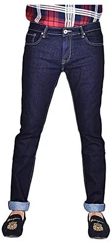 YellowJeans Men's Slim Fit Jeans (Dark Blue, 28W x 42L) Yellow Jeans, Slim Man, Jeans Fit, Dark Blue, Denim, Fitness, Pants, Fashion, Trouser Pants