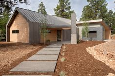 Exterior Design Ideas, Pictures, Remodels and Decor Shed Homes, Prefab Homes, Rural House, House In The Woods, Roof Architecture, Residential Architecture, Modern Exterior, Exterior Design, Roof Design
