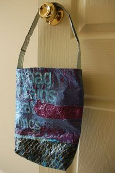 Simple, Green, Frugal Co-op: Up-cycling Plastic Bags