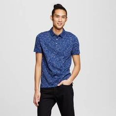 A classic look gets an on-trend update with the Men's Polo Shirt from Mossimo Supply Co. It's made with a durable cotton/polyester blend for all-day comfort and mixes with jeans or shorts to add casual appeal to your everyday style.