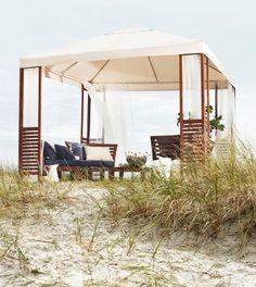"""Für ein bisschen Luxus: Pavillon und Lounge-Möbel """"Äpplarö"""" IKEA"""