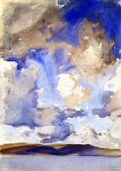 John Singer Sargent - Clouds