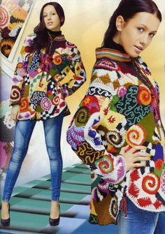 russian crochet | Duplet #117 Russian crochet patterns magazine