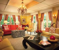 """Palm Beach Chic Meets Pure Elegance in the """"Pink Palace"""" of Coral Gables- The Glam Pad"""