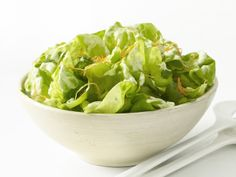 Green Salad With Buttermilk Dressing from #FNMag #myplate #veggies
