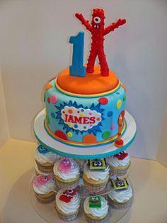 Yo Gabba Gabba Birthday Cake By bandcbakes on CakeCentral.com