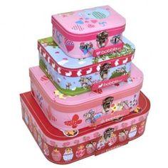 bubbalove.com.au - Bobble Art - Suitcase Set - Babushka