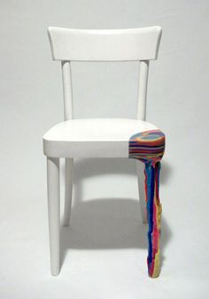 Sculptures by Anna ter Haar Resin Furniture, Funky Furniture, Classic Furniture, Unique Furniture, Furniture Makeover, Painted Furniture, Furniture Design, Furniture Movers, Funky Chairs
