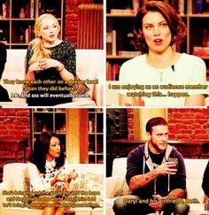 Everyone ships Beth and Daryl, too too cute!!