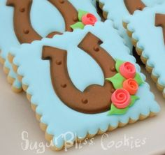 SugarBliss Cookies: SugarBliss Horseshoes