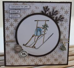 Kari Anne's hobby Marianne Design, Aktiv, Magnolia, Christmas Cards, Decorative Plates, Mirror, Christmas E Cards, Magnolias, Xmas Cards