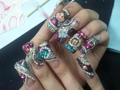 nails mexican style!