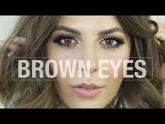 A Stunning Makeup Tutorial for Brown Eyes | Byrdie UK