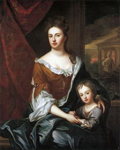 Queen Anne and William, Duke of Gloucester by studio of Sir Godfrey Kneller - Anne, Queen of Great Britain - Wikipedia, the free encyclopedia