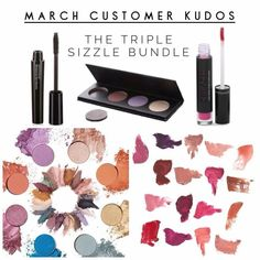 Triple Sizzle Bundle! Only in March will you receive an amazing deal! Scoop yours up at www.luxeandbeauty.com