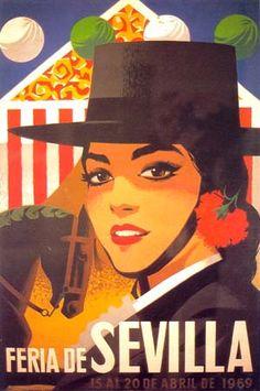 affiche feria 1969
