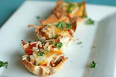 Skinny Mini Lasagna #low-fat