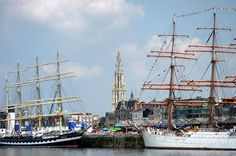 The Tall Ships Races Antwerp 2016