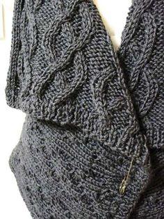Aran knit on etsy.com