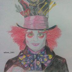 Jhonny Depp drawing. Instagram:@selcen_2001