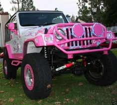 Real Life Barbie Jeep