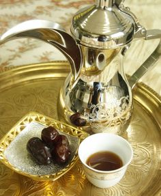 Arabic Coffee with dates
