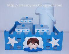 artes by Má: #Kit higiene #bebê #feltro