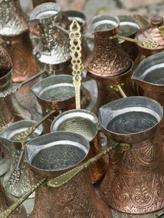 Coffee Pots, Bascarsija Ottoman Era, Sarajevo, Bosnia & Hercegovina Photographic Print