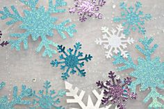 Frozen Party Decoration Confetti / by EJsExquisiteTreasure on Etsy