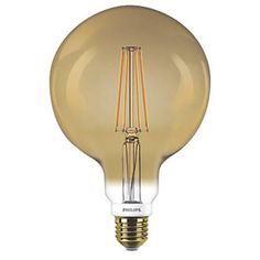 Philips Classic heritage design with LED filament.