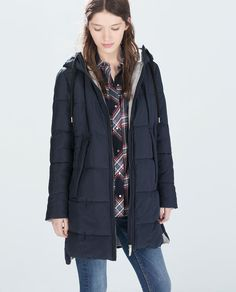 Image 2 of LONG PUFFER JACKET from Zara
